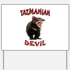 TAZMANIAN DEVIL Yard Sign