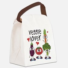 Veggie Lover Canvas Lunch Bag