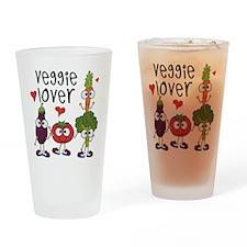 Veggie Lover Drinking Glass