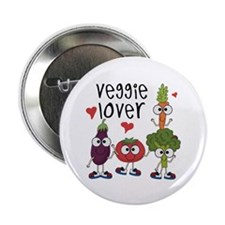 "Veggie Lover 2.25"" Button"