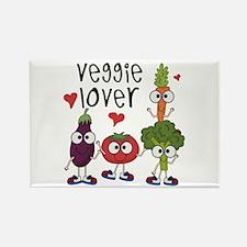 Veggie Lover Rectangle Magnet (100 pack)