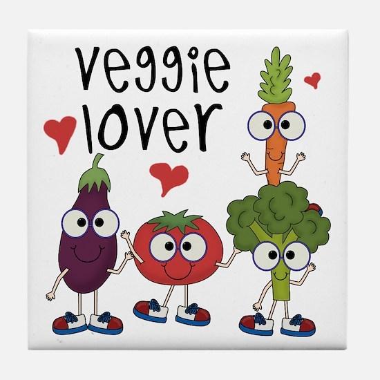 Veggie Lover Tile Coaster