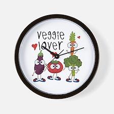 Veggie Lover Wall Clock