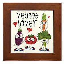 Veggie Lover Framed Tile