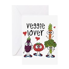 Veggie Lover Greeting Card