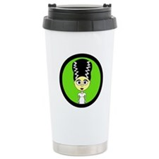 Cute Bride of Frankenstein Travel Mug