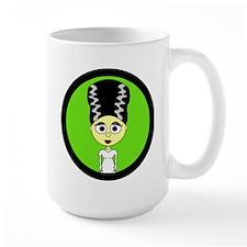 Cute Bride of Frankenstein Mugs