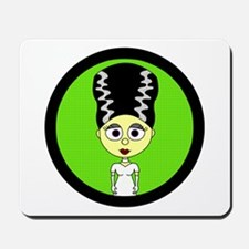 Cute Bride of Frankenstein Mousepad
