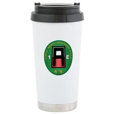 SSI - 1st Army Division East with Text Travel Mug