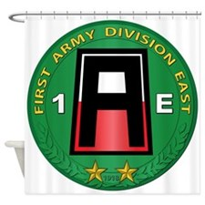 SSI - 1st Army Division East with Text Shower Curt