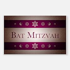 bat mitzvah Decal