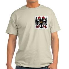 Masonic Double Eagle Ash Grey T-Shirt