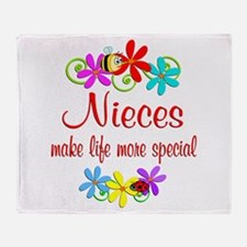 Special Niece Throw Blanket