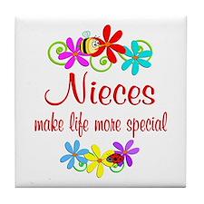 Special Niece Tile Coaster