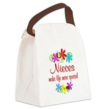 Special Niece Canvas Lunch Bag