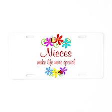 Special Niece Aluminum License Plate
