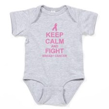 Keep Calm Fight Baby Bodysuit