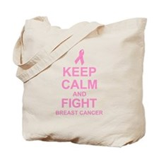 Keep Calm Fight Tote Bag