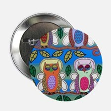 "Abel Owls 2.25"" Button"