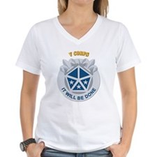 DUI - V Corps With Text Shirt