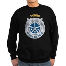 DUI - V Corps With Text Jumper Sweater