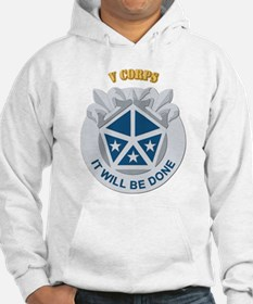 DUI - V Corps With Text Jumper Hoody