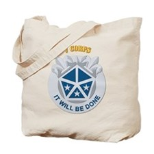 DUI - V Corps With Text Tote Bag