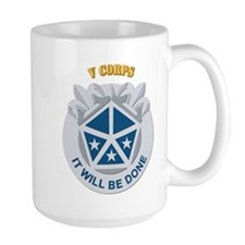 DUI - V Corps With Text Mug