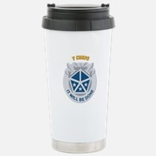DUI - V Corps With Text Travel Mug