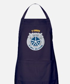 DUI - V Corps With Text Apron (dark)