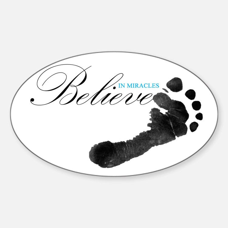 Believe in Miracles Decal