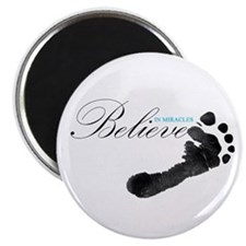 Believe in Miracles Magnets