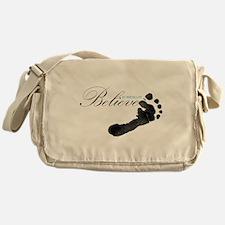 Believe in Miracles Messenger Bag