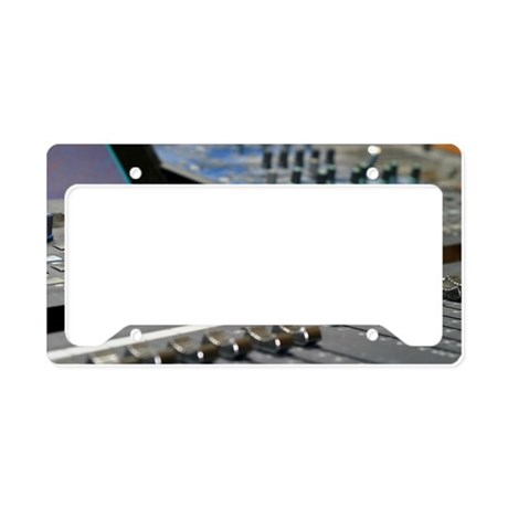 Mixing Console License Plate Holder