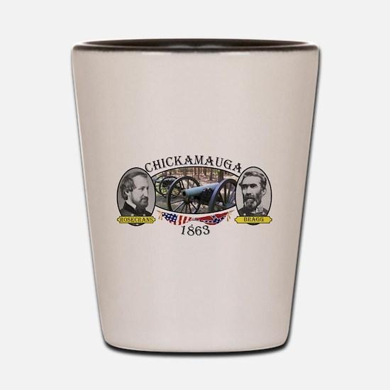 Chickamauga Shot Glass