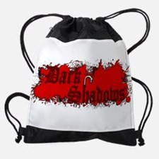 dark shadows Drawstring Bag