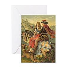 Vintage Fairy Tale Greeting Card