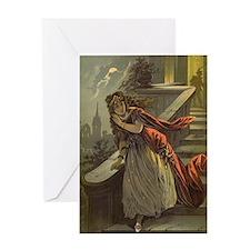 Vintage Cinderella Greeting Card