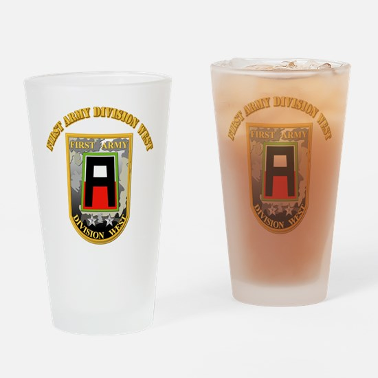 SSI - First Army Division West with Text Drinking