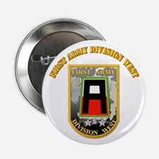 """SSI - First Army Division West with Text 2.25"""" But"""
