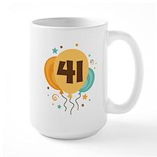 41st Birthday Party Mug