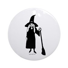 Little Witch  Ornament (Round)