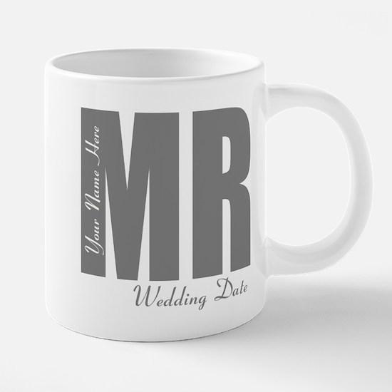 Wedding Groom 20 oz Ceramic Mega Mug