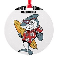 Santa Barbara, California Ornament