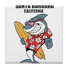 Santa Barbara, California Tile Coaster