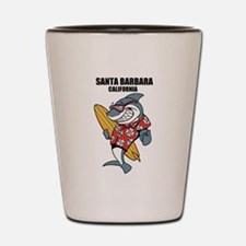 Santa Barbara, California Shot Glass