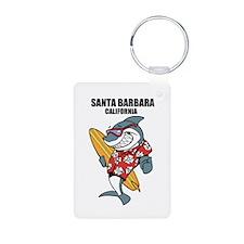 Santa Barbara, California Keychains