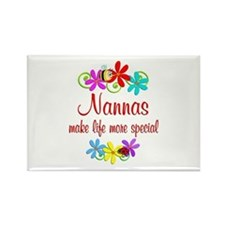Special Nanna Rectangle Magnet