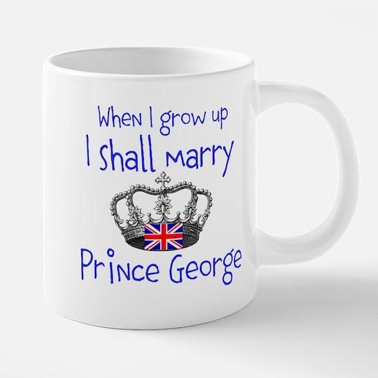 Marry Prince George 20 oz Ceramic Mega Mug