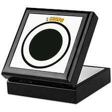 SSI - I Corps with Text Keepsake Box